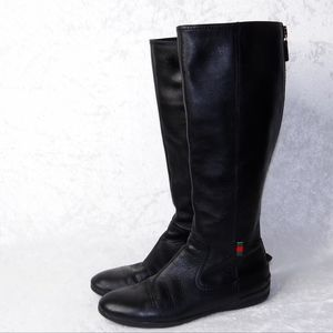 Vintage Gucci Leather Ridding Boots 36 size 5.5